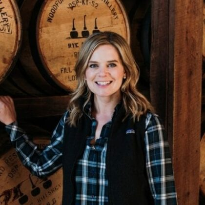 Elizabeth McCall at Woodford Reserve.