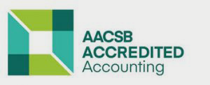 AACSB अकाउंटेंसी लोगो