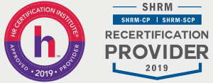 PMU Logo and SHRM logo
