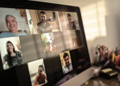 Virtuelles Keynote-Meeting