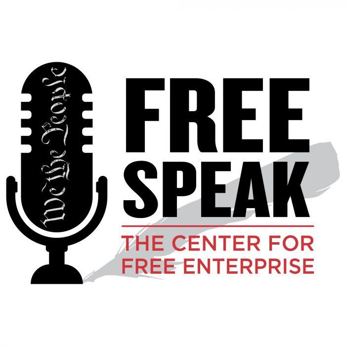 Free Speak podcast logo