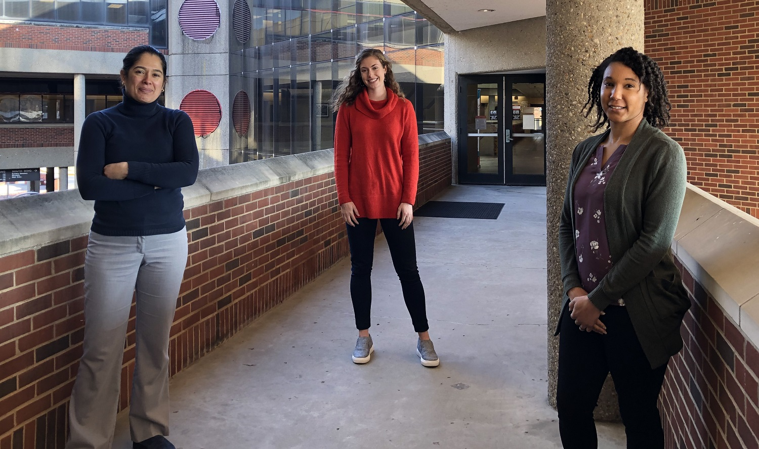 Isabel Botero, Sarah Snyder and Jocelyn Deamer of the UofL Family Business Center are among the 2021 Rechter Fellows