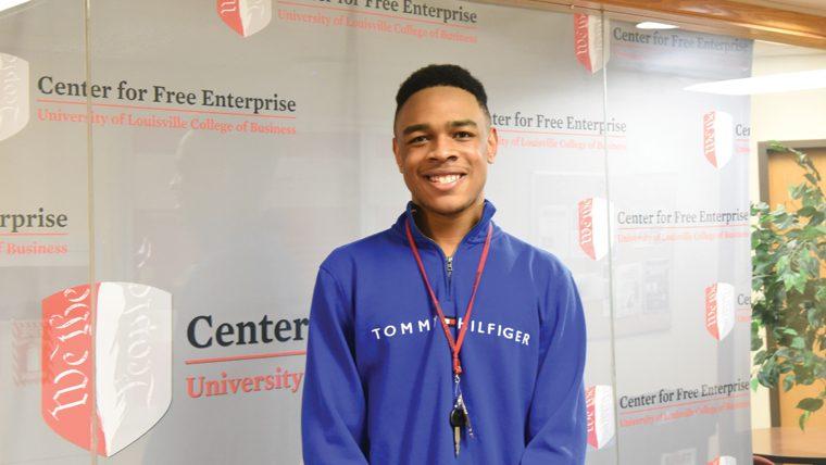 Carl Fletcher CoB Student