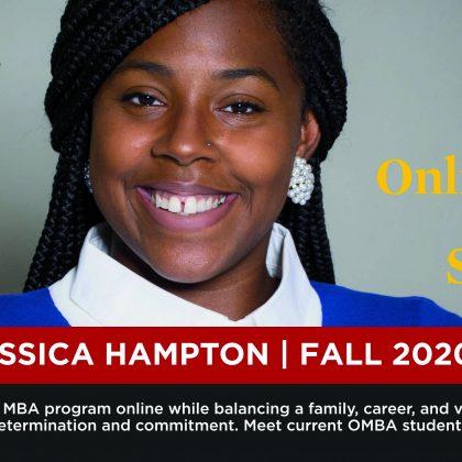 OMBA学生聚焦:杰西卡·汉普顿(Jessica Hampton)