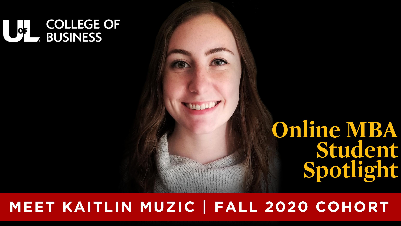 OMBA Student Spotlight - Kaitlin Muzic