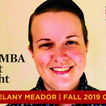 在线MBA学生Melany Meador