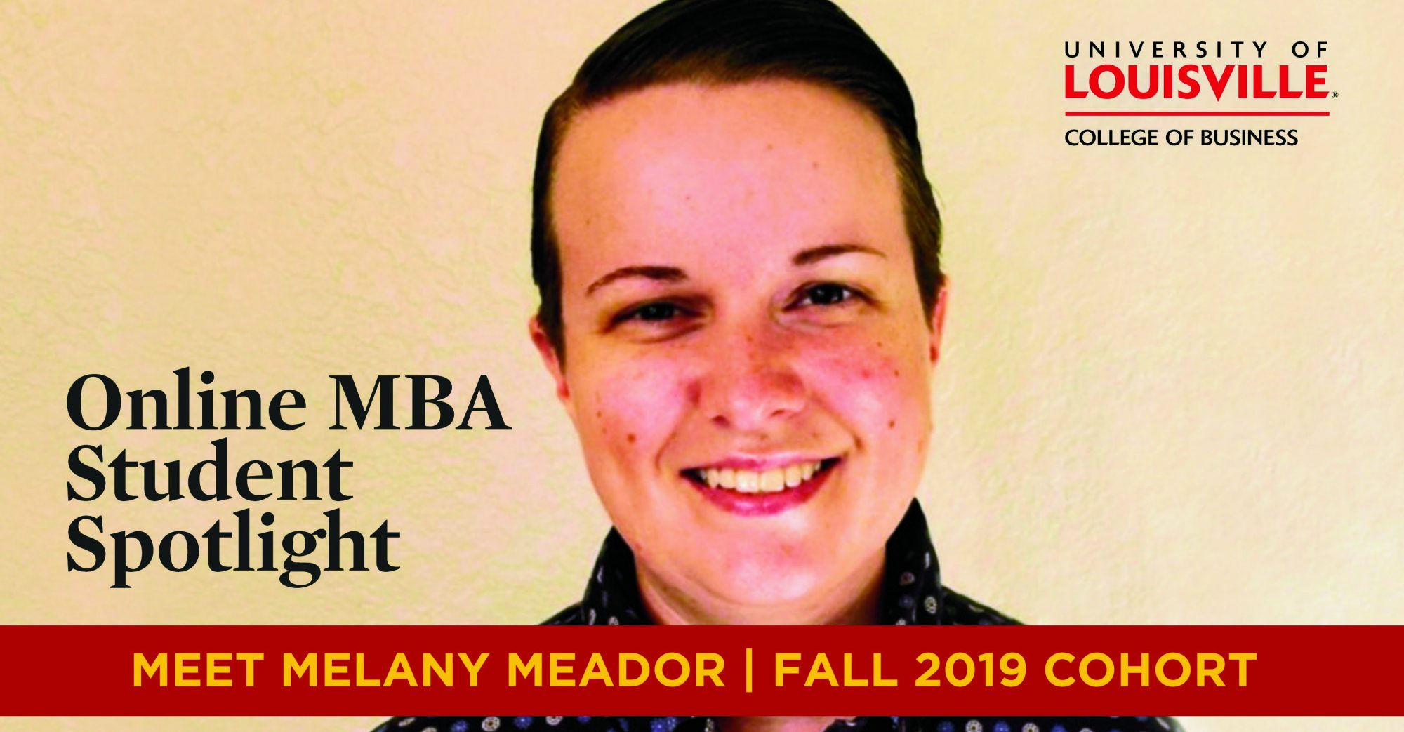 Online MBA student Melany Meador