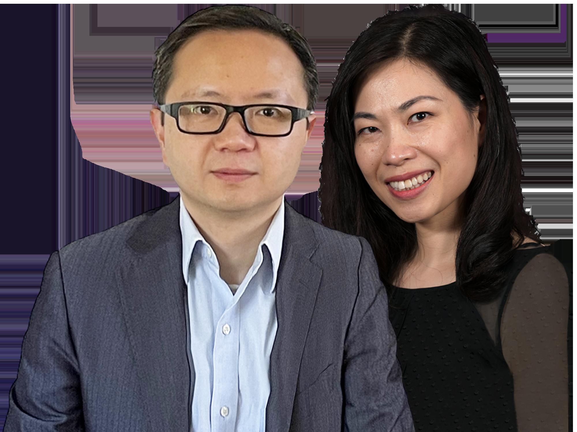 Lori Tang, PhD, and Yong Chao, PhD