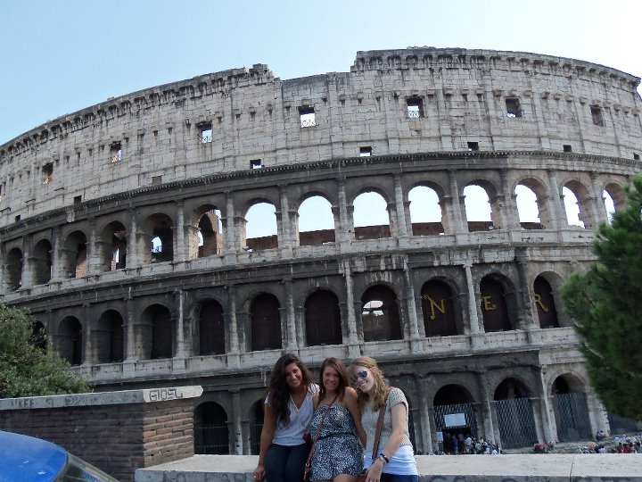 Colosseum with some of my roommates!