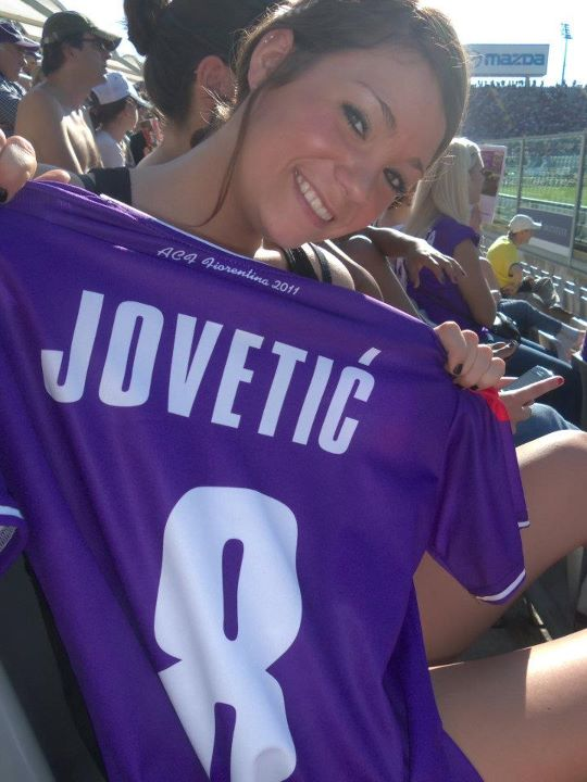 SOCCER GAME! had to buy a jersey!
