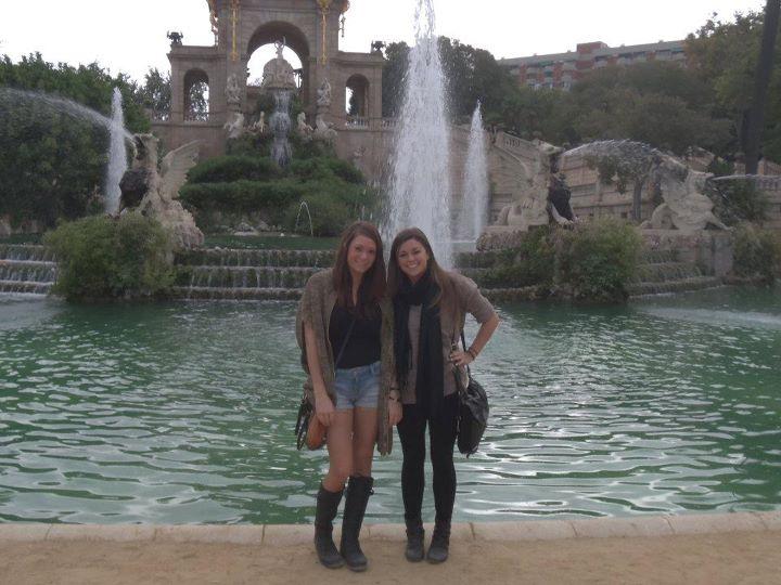 Gaudi Fountian-Barcelona