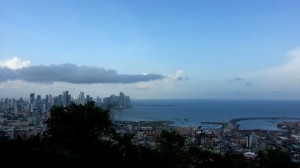 On top of Cerro Ancon the entire skyline of Panama City can be seen.